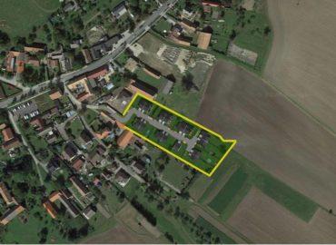 Zákres v satelitním pohledu